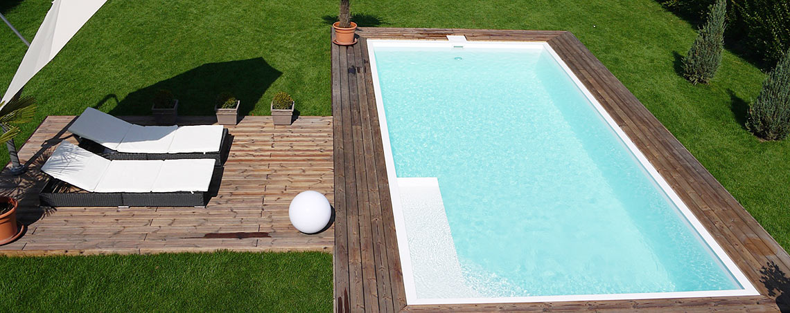 Plastové bazény a zastřešení